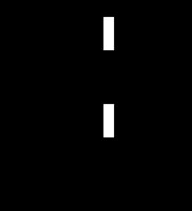 Voltage divider principle.